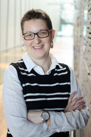 Personporträtt på psykoterapeuten Petra Berg.