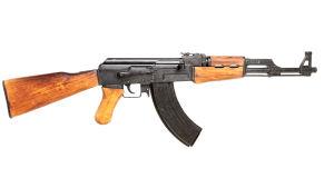Replika av en AK-47.