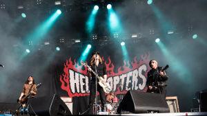 Hellacopters på Tuska 2019.