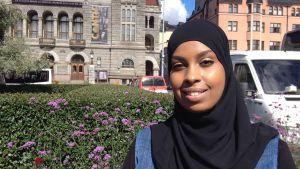 Habiba Ali har bott i Finland sedan hon var sex år gammal.