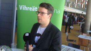 Ville Niinistö i Uleåborg 5.6.2015