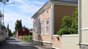 Trähus i Kristinestad