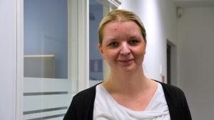 Annika Ekroos från Hindhår byaförening