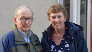 Svante Rönnholm och Marianne Lindholm