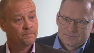 Direktörerna för Oral (Martin Forss) och Mehiläinens tandvårdsavdelning (Erkki Virta)