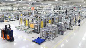 Valvet Automotives batterifabrik i Salo.