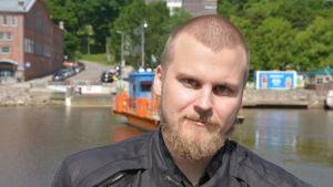 Färjföraren Jan Klingenberg.