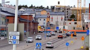 gatumiljö i Borgå