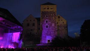 Kent och Åbo Slott.