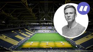 Borussia Dortmunds hemmaplan.