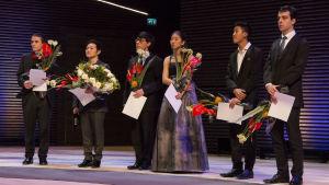 Paulon sellokilpailun finalistit