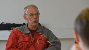 Ulf Heimberg är Ssab:s arbetarskyddsfullmäktige i Hangö.