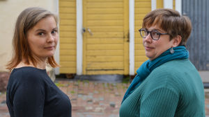 Hanna Lindholm och Ewa-Maria Wiik