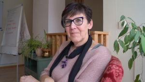 Anki Sundqvist är verksamhetsledare på Contact rf.
