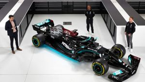 Mercedes presenterade sin nya bil för en vecka sedan.