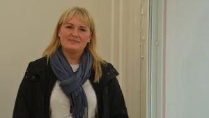 Petra Lindström, vd för Hangö Hyreshus Ab.