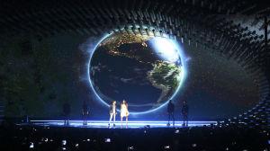San Marinos Eurovisionsbidrag på scenen.
