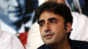 Den pakistanska oppositionspolitikern Bilawal Bhutto Zardari.