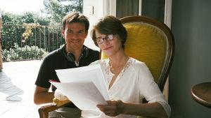 Francois Ozon och Charlotte Rampling.