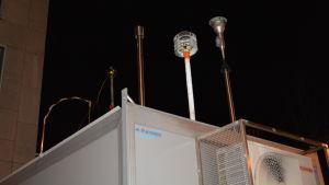Luftkvalitetmätningsstationen i Borgå.