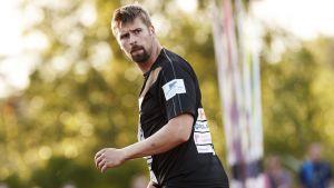 Antti Ruuskanen tävlade i Orimattila i slutet av juni.