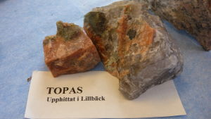 Topas i Allan Lillbäcks stensamling