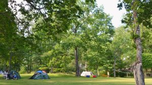 Ekuddens campingplats i Lovisa