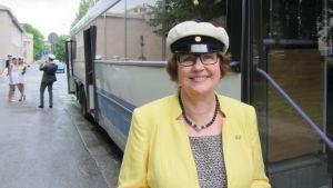 Stolt rektor Ulla Granfors.