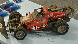 Pasi Pennanens mikrobil, ombyggd i flera omgångar. Här startade hans intresse för teknik i bilarna.