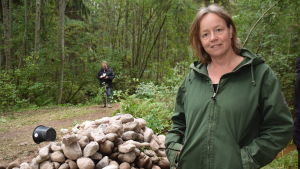 Jordbrukare Nina Långstedt i Ingå.