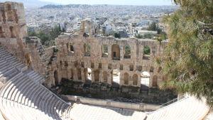 Amfiteater på Akropoliskullen
