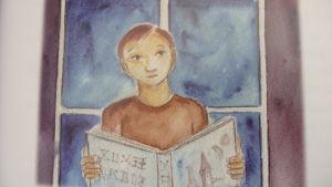 Illustration i Stina Engvalls bok Galaxia