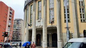 En skola i Budapest.