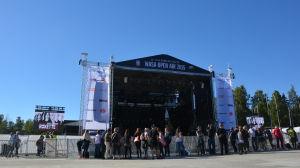 Roxette konsert vid Karlsplan