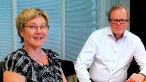 Viola Mitts och Gösta Willman