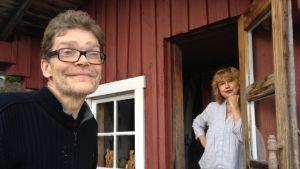 Cornelius Colliander och Stina Engblom-Colliander
