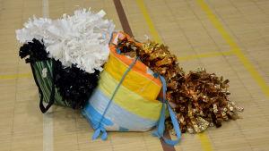 Pom-pons för cheerleading.