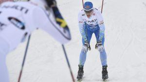 Matias Strandvall i Scandinaviska Cupen i Lahtis 2017.