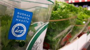 Svanen visar att produkten kommer från Finland.