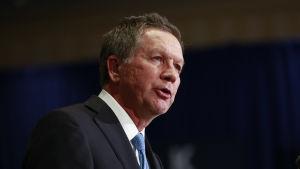 John Kasich, republikansk guvernör i Ohio, moderat konservativ och bitsk kritiker av Donald Trump.