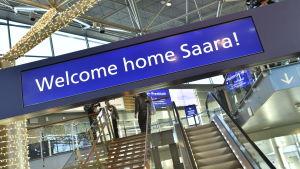 I väntan på Saara Aalto.