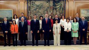 Spaniens nya regering och kungen Felipe