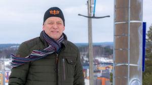 Per Högström uppe på Kokonbacken.