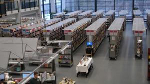 Salen i Borgå stadsbibliotek.