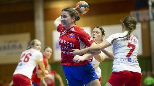 Anna Westerlund i Dicken i match mot HIFK 2019.