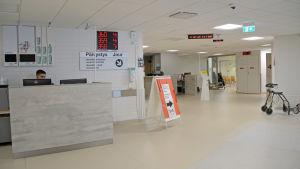 Ett sjukhus väntrum