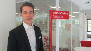Henrik Wickström i Ingå bibliotek
