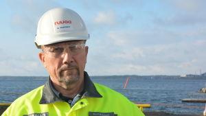 Fabrikschef Kalle Råstedt.