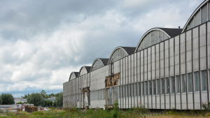 Rettigs tobaksfabriks gamla lager.