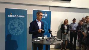 Alexander Stubb talar i Vanda 19.8.2014